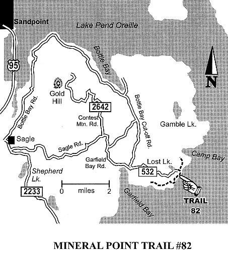 Hiking Mountain Biking Trails Around Sandpoint Idaho